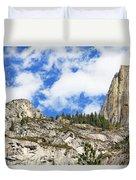 Yosemite Granite Duvet Cover