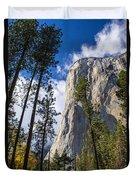 Yosemite In The Fall Duvet Cover