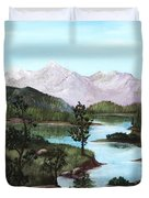 Yosemite Meadow Duvet Cover