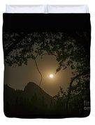 Yosemite Moonrise Duvet Cover