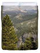Yosemite Mountain High Duvet Cover
