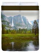 Yosemite Rain Duvet Cover