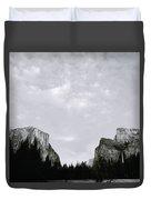 Serenity Of Yosemite Duvet Cover