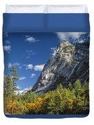 Yosemite Valley Rocks Duvet Cover