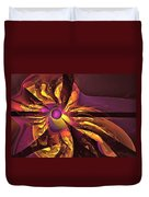 You Are Here --  Events Conspire Duvet Cover