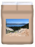 You Can Make It. Inspiration Point Duvet Cover