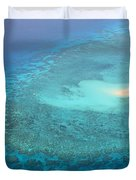 You Found Me Great Barrier Reef Australia  Duvet Cover