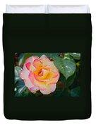You Love The Roses - So Do I Duvet Cover by Christine Till