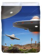 You Never Know . . . 5 Duvet Cover by Mike McGlothlen