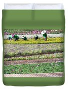 You Reap What You Sow Duvet Cover