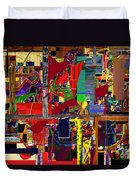 You Saw No Picture 12 Duvet Cover by David Baruch Wolk
