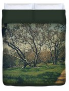 You Smiled And I Knew Duvet Cover by Laurie Search