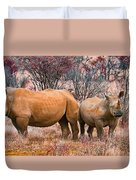 You Watch My Back And I Will Do The Same For You Duvet Cover