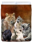 Young And Wild Duvet Cover