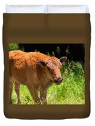 Young Bison Duvet Cover