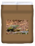 Young Blue Heron Duvet Cover