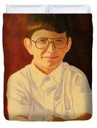 Young Boy Duvet Cover
