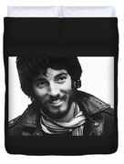 Young Bruce Springsteen Duvet Cover
