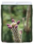 Young Cones Duvet Cover