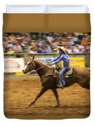 Young Cowgirl Duvet Cover