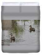 Young Ducks Duvet Cover