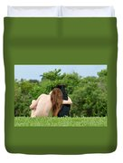 Young Earth Duvet Cover