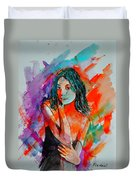 Young Girl 52622 Duvet Cover