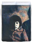 Young Girl Duvet Cover