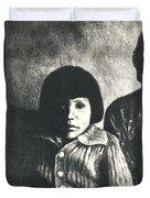 Young Girl Original Duvet Cover