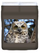 Young Hooter  Duvet Cover