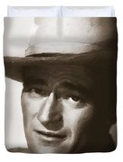 Young John Wayne Painting Traditional Duvet Cover