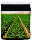 Young Lettuce Duvet Cover