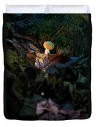 Young Lonely Mushroom Duvet Cover