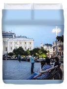 Young Lovers And Other Strangers - Moscow- Russia Duvet Cover