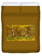 Young Male Buck Duvet Cover