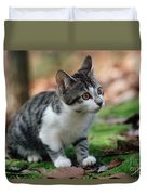 Young Manx Cat Duvet Cover