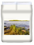 Young Reeds  Duvet Cover