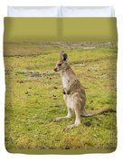 Young Roo Duvet Cover