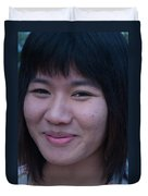 Young Thai Girl Duvet Cover