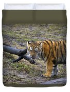Young Tiger Duvet Cover