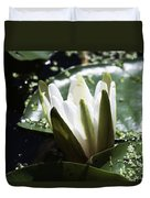 Young Water Lily Duvet Cover