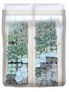 Your Garden Wall Duvet Cover