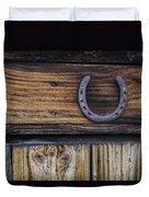 Your Lucky Horseshoe Duvet Cover