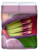 Your Treasure - Mai'a Maoli - Tropical Hawaiian Banana Flower  Duvet Cover