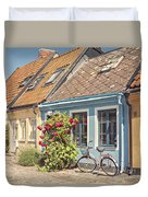 Ystad Cottages Duvet Cover