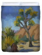 Yucca And Joshua Duvet Cover