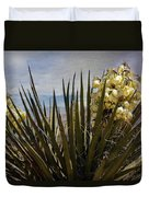Yucca Blooms Duvet Cover