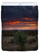 Yucca Sunset Duvet Cover