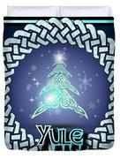 Yule Festival Duvet Cover