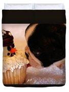 Yum At First Kiss Duvet Cover